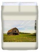 Barn On The Field Duvet Cover