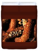 Barnacles And Rust  Duvet Cover