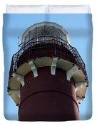 Barnegat Light - Lighthouse Top Duvet Cover