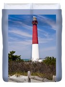 Barnegat Lighthouse Duvet Cover