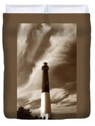 Barnegat Lighthouse Duvet Cover