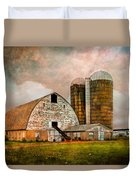 Barns In The Country Duvet Cover