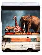 Barnum And Bailey Goes On A Road Trip 5d22705 Duvet Cover