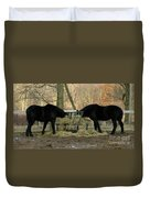 Barnyard Beauties Duvet Cover