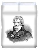 Baron Georges Cuvier (1769-1832) Duvet Cover