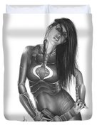 Baroness Duvet Cover by Pete Tapang