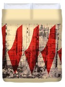 Barriers To Statehood Duvet Cover