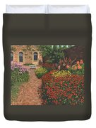 Barrington Court Gardens Somerset Duvet Cover