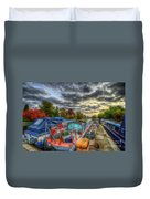 Barrow Boats Duvet Cover