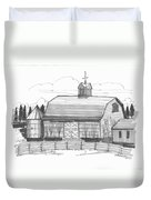 Barrytown Barn Duvet Cover