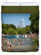 Barton Springs Pool Duvet Cover