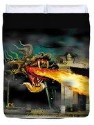 Barton The Mutant Salamander Duvet Cover
