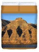 Basalt Group Layers Duvet Cover