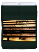 Baseball Bats Duvet Cover