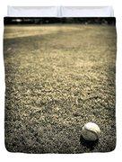 Baseball Field 3 Duvet Cover