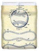 Baseball Patent Vintage Us1668969 Duvet Cover