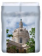 Basilica Da Estrela In Lisbon Duvet Cover