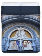 Basilica Of Our Lady Of Lourdes Duvet Cover