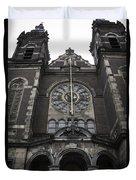 Basilica Of St Nicholas II Amsterdam Duvet Cover