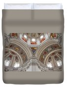 Basilica Of St. Peter In Salzburg Duvet Cover