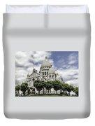 Basilica Of The Sacred Heart Paris France Duvet Cover