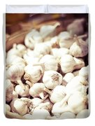 Basket Of Garlic Duvet Cover