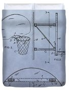 Basketball Hoop Duvet Cover