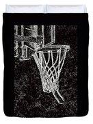 Basketball Years Duvet Cover by Karol Livote