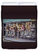 Baskets For Sale Duvet Cover by Heather Applegate