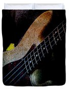 Bass Guitar Duvet Cover