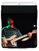 Bass Guitar Musician Duvet Cover