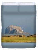 Bass Rock Scotland Duvet Cover