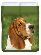Basset Hound Dog Duvet Cover