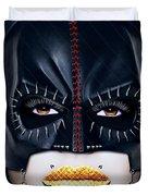 Bat Girl Duvet Cover