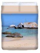 Bath Beach Duvet Cover