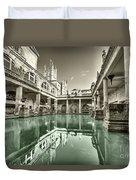 Bath Of Bath  Duvet Cover