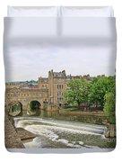 Bath On River Avon 8482 Duvet Cover