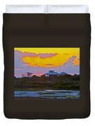 Bathouse Sunset Duvet Cover