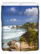 Bathsheba Beach Duvet Cover