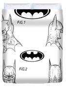 Batman Face Guard Duvet Cover