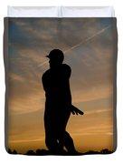 Batter At Dawn - Phillies Duvet Cover