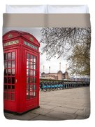 Battersea Phone Box Duvet Cover