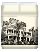 Battery Carriage House Inn Duvet Cover