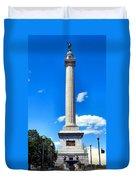 Battle Monument Duvet Cover