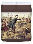 Battle Of Bennington Duvet Cover