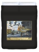 Battle Of Bunker Hill, 1775 Duvet Cover