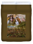 Battle Of Lepanto Duvet Cover