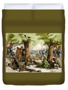 Battle Of Oriskany, 1777 Duvet Cover