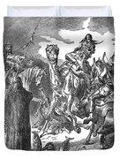 Battle Of The Camel, 656 Duvet Cover