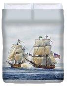 Battle Sail Duvet Cover